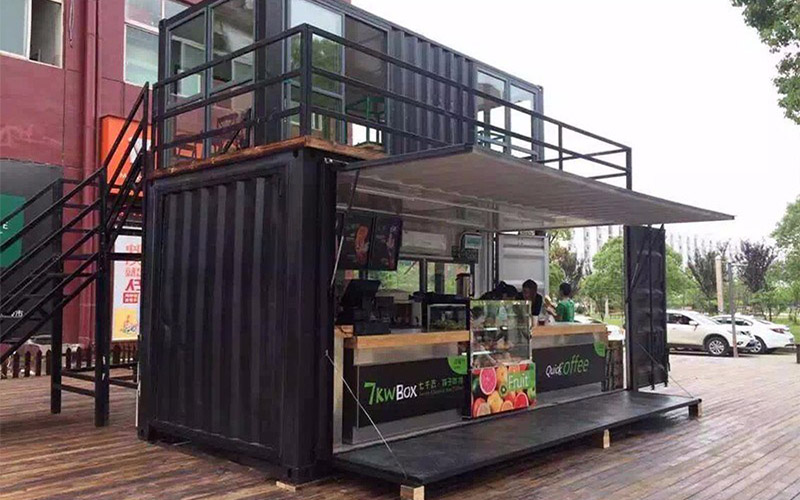 Container quán cafe