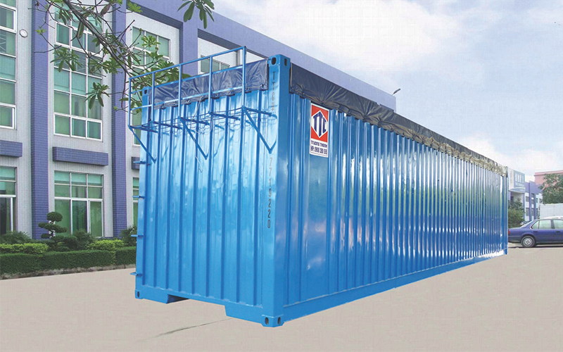 container mở lóc